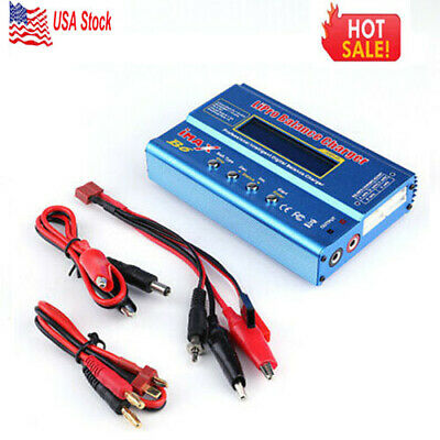 Multi-Battery Balance Charger For Rc Car Boat Truck RC Accessories Blue US STOCK