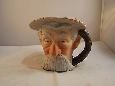 Vtg 1979 Norman Rockwell Saturday Evening Post Toby Mug NRM-5
