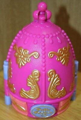 Polly Pocket Fabergé Egg Style SPARKLE BALLERINA 96 + 1 Figure/Bluebird/Vintage