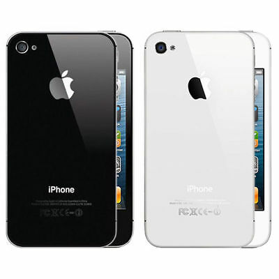 (NEW & UNLOCKED&BOX) Apple iPhone 4s | 1 Year Warranty |  32GB White Black MSF