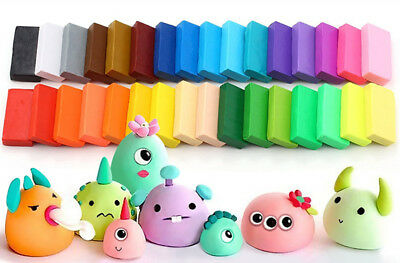 32PCS Soft Craft Oven Bake Modelling Clay  with Modeling Tools and Accessories