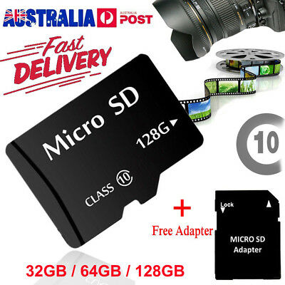32GB 64GB128GB Micro SD Card Extreme Pro TF SDHC SDXC Class10 Memory W/ Adapter