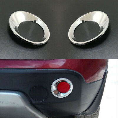 For Nissan Qashqai J10 /Qashqai +2 2007-2013 Rear Fog light Chrome Cover Trims