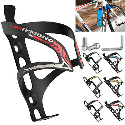 Aluminum Alloy Cycling MTB Road Bike Bicycle Water Bottle Cage Mount Holder Rack