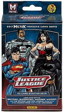 Meta X Justice League Trading Card Starter Deck