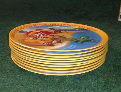1977 Vintage Lot of 10~ McDonald's Seasons Dinner Plates Lexington