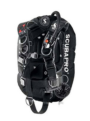 Scubapro X-Tek Form Harness Backplate Wing Single System (EX DEMO POOL USE ONLY)