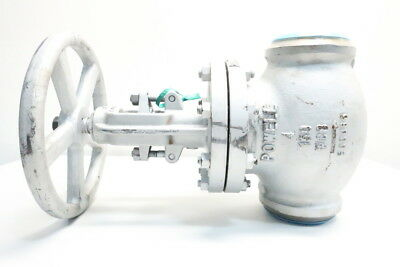 New Powell 1531WE Manual 150 Steel Butt Weld 4in Globe Valve