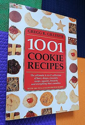 1001 COOKIE RECIPES baking cookbook cooky dessert one thousand and one