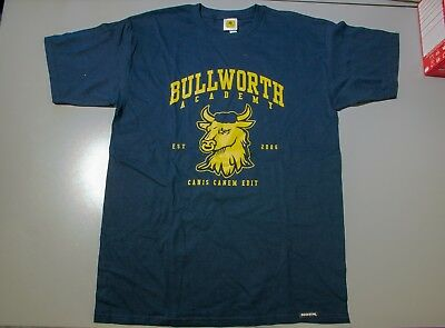Bully Bullworth Academy Mascot Official Rockstar T-Shirt L (Large)
