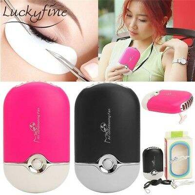Eyelash Extension Tool USB Mini Fan Air Conditioning Blower Glue Makeup Dryer