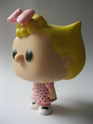 SALLY BROWN stamped Funko Peanuts 2015 vinyl figure about 3.5 inches tall A287
