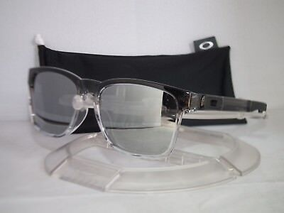 2b5dcca916512 OAKLEY CATALYST SUNGLASSES OO9272-18 Grey Ink Fade   Chrome Iridium SGH  Exclusiv