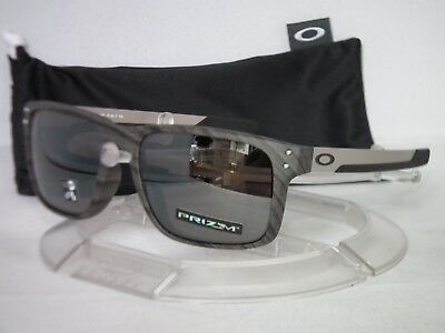 9c773efa49c Oakley Holbrook Mix Sunglasses OO9384-0457 Woodgrain   Prizm Black Iridium