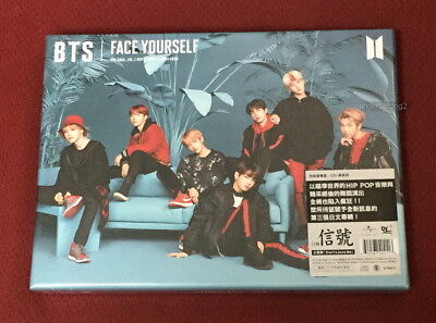 BTS FACE YOURSELF 2018 Taiwan Ltd CD+68P booklet (digipak) Japanese Lan.