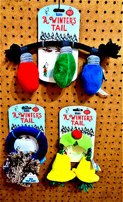 BARK BARKBOX A WINTERS TAIL Christmas Winter Dog Puppy Toys CHOOSEE TYPE