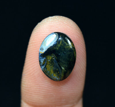 3.45 Cts. 100% Natural Pietersite Gemstone 14*10*3 mm Oval Cabochon