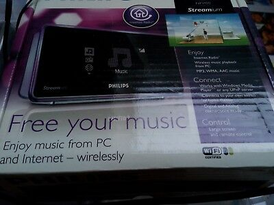 Philips Streamium NP1100 Network Music Player FULLY WORKING