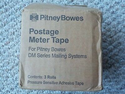 3 Rolls Pitney Bowes Postage Meter Tape  for DM Series Mailing Systems 627-8