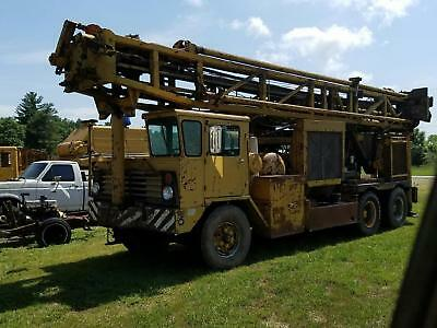 Ingersoll Rand T4W Drill Rig 750/300 Water Well Oil Gas Drilling IR T4 Detroit