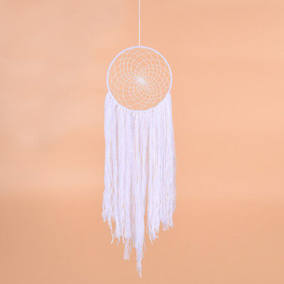 1pc Creative White Dream Catcher Long Tassel Net Craft Ornament Decoration Gift