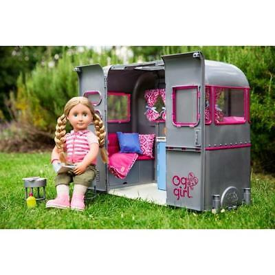 Kids Our Generation RV Camper Doll Van Toy - New Creative Fun Children Play Toys