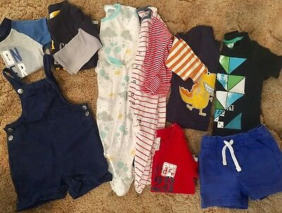Baby Boy Clothes Bundle. Size 0. Jumpsuits, overalls, winter clothing, mambo