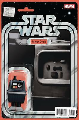 Star Wars #18 Power Droid John Tyler Christopher Action Figure Variant Marvel