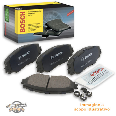 1 BOSCH Kit pastiglie freno, Freno a disco Assale anteriore CABRIO CITY-COUPE
