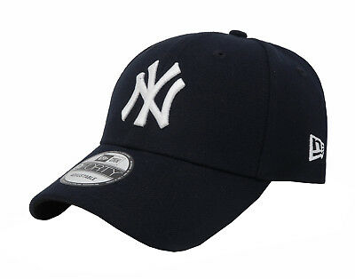 NEW ERA 9Forty MLB NY Yankees Blue White The League Cap Adjustable Adult Men Hat