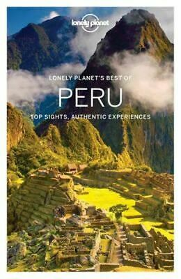 NEW Best of Peru By Lonely Planet Travel Guide Paperback Free Shipping