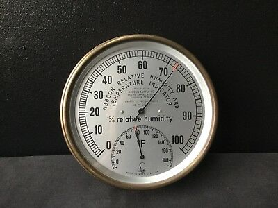 Abbeon Inc M2A4 Relative Humidity and Temperature Indicator Vintage West Germany