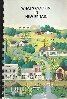 What's Cookin In New Britain Ct 1993 Baptist Church Cook Book Connecticut Local
