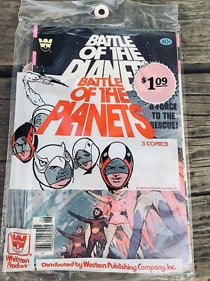 Battle of the Planets #1 #2 #3 (1979) Bronze Age sealed/unopened