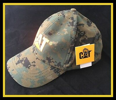 Camo Catapiller Baseball Cap - Brand New With Tags