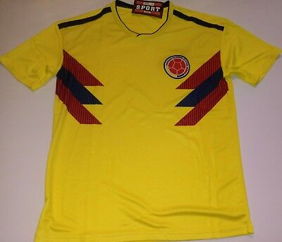 0738eb46d MEN S COLOMBIA 2018 world cup Home soccer jersey -  18.00
