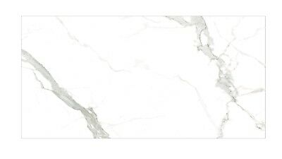 Large Format Marble Look Porcelain Floor & Wall Tile 2400x1200x5.5 slim panel