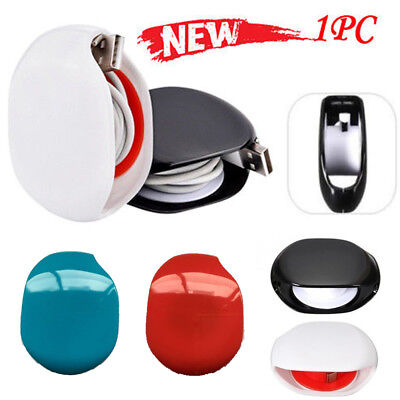 2018 Super Cord Tangle Free Portable Manager New Black White Red Blue Colors