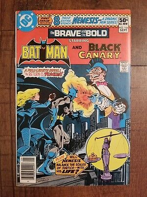 The Brave And The Bold 166 Dc Comic Book 1980 Batman Black Canary