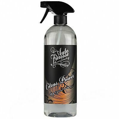 Auto Finesse Citrus Power Car / Van Bug And Grime Remover / Degreaser - 1 Litre