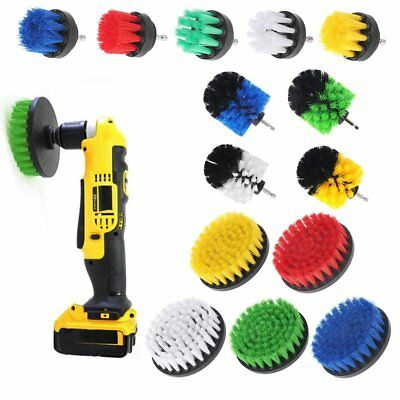 Drill Cleaning Brush Power Scrubber Stiff Scrub Bit Pad Tile Grout Cleaner