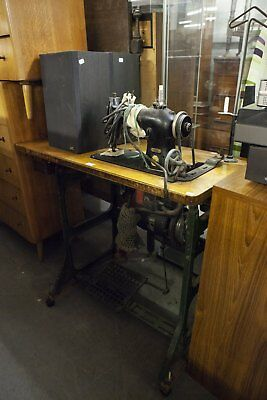 Singer Sewing Machine base, Industrial table base for conversion ....