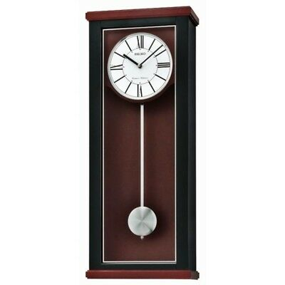 LSC  Seiko Long Case Pendulum Chiming Wall Clock QXH062K