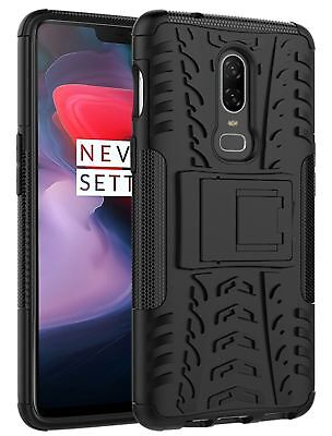 Heavy Duty Shock Proof Hybrid Armor Dual Protection Case Cover For Oneplus 6, 5T