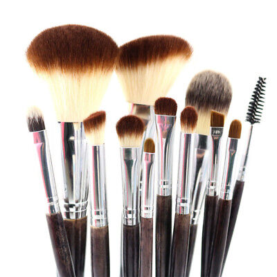 Professional Makeup Brushes Set Soft Vegan Highlight Contour Blending Tools Kit
