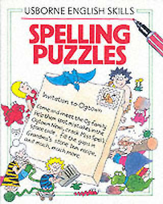 Spelling Puzzles (Usborne English Skills), Gee, Robyn, McClelland, Peter, Tyler,