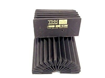 Set of (2) THK JSH35-60/420 Bellows Dust Cover Guides