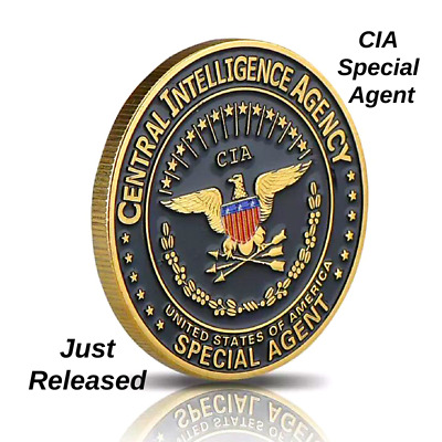 CIA Central Intelligence Agency Special Agent Challenge Coin Just Released!