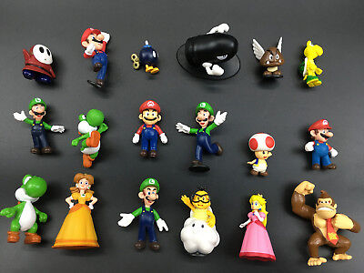 Super Mario Bros Lot 18pcs Action Figure Doll Playset Figurine Gift
