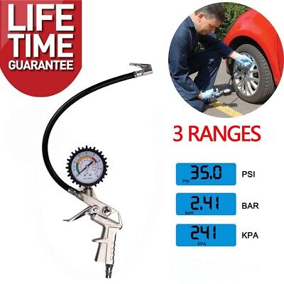 Car Digital LCD Tyre Air Pressure Gauge Tester Measurement Auto Motorcycle Van